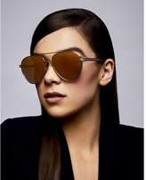 Express privé revaux silver g.o.a.t. sunglasses