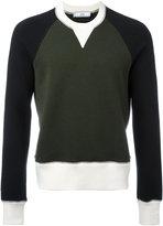 Ami Alexandre Mattiussi crew neck jumper with raglan sleeves - men - Acrylic/Wool - XS
