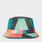 Paul Smith Men's 'Artist Stripe' Print Swim Bucket Hat