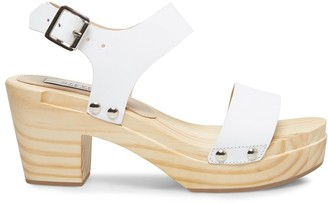 Steve Madden Fabee White Leather