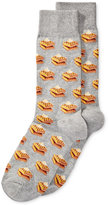Hot Sox Men's Food-Themed Patterned Dress Socks