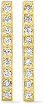 Jennifer Meyer 18-karat Gold Diamond Earrings