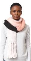 Kate Spade Chunky Knit Colorblock Muffler