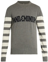 Oamc Pandaemonium crew-neck stretch-cotton sweater