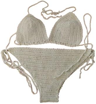 Blumarine White Cotton Swimwear for Women