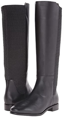 Cole Haan Rockland Boot (Black Leather) Women's Pull-on Boots