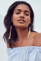Urban Outfitters Lia Chain Tassel Earring