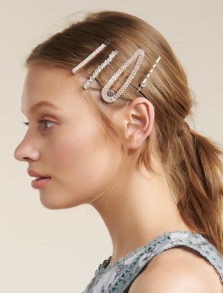 Forever New Elisha Snap Clip and Slides Hair Multi-Pack - Rose Gold - 00