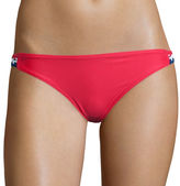 Arizona Americana Macram Hipster Swim Bottoms - Juniors