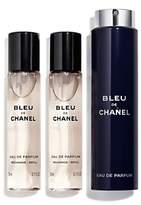 Chanel BLEU DE Eau de Parfum Refillable Travel Spray 3 x 20ml