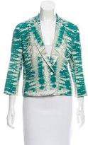 Maje Veste Tie & Dye Lightweight Blazer w/ Tags