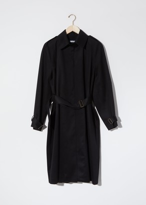 Dusan Army Trench Coat