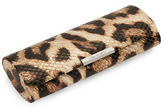Corinne McCormack Animal Print Oval Glasses Case