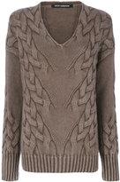 Iris von Arnim textured knit sweater