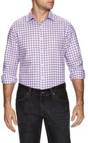 James Tattersall Woven Check Dress Shirt