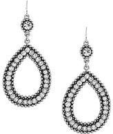 Jessica Simpson Open Teardrop Statement Earrings