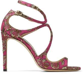 Jimmy Choo Lang 100 Brocade Sandals