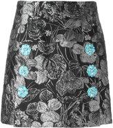 Dolce & Gabbana metallic jacquard skirt