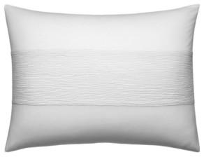 Vera Wang Ghost Flower Banded Horizontal Texture Breakfast Pillow Bedding