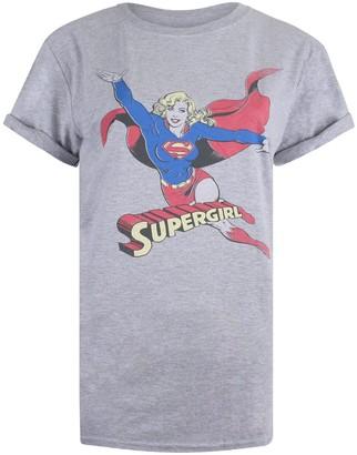 Dc Comics Women's Retro Supergirl T-Shirt