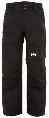 Helly Hansen Pilsner Technical Cargo Trousers - Mens - Black