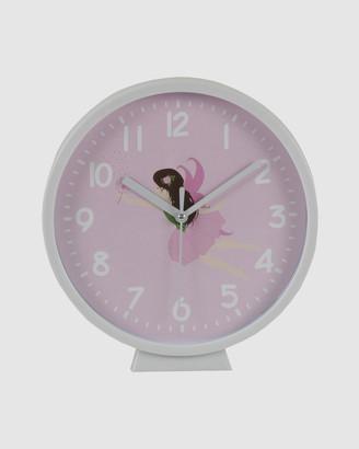 Bobbleart Wall Clock Fairy