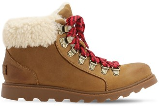 Sorel AINSLEY SUEDE CONQUEST BOOTS