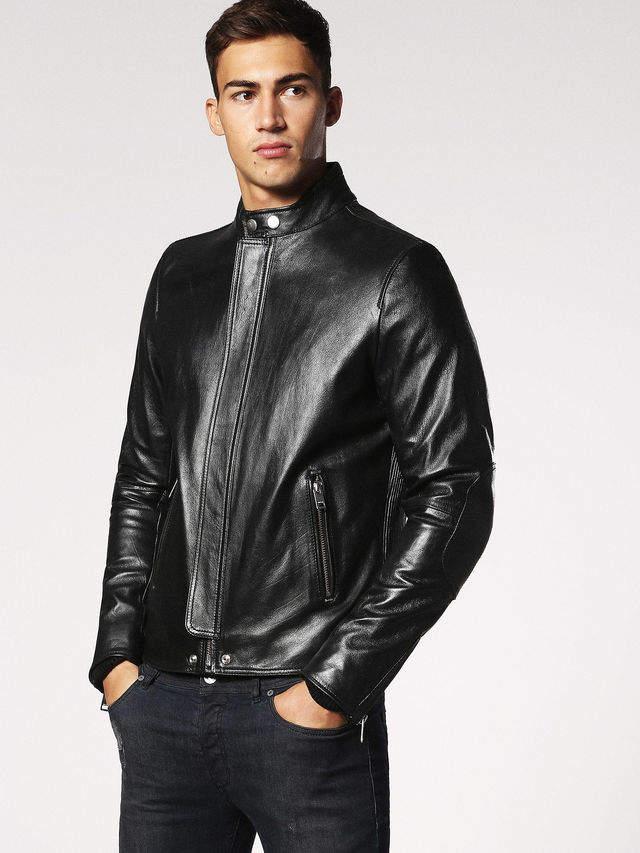 Diesel Leather jackets 0SAQS - Black - L