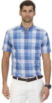 Nautica Big & Tall Buffalo Plaid Short Sleeve Shirt