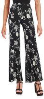 BB Dakota Floral Wide Leg Pants