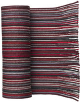 Johnston & Murphy Striped Wool Knit Scarves