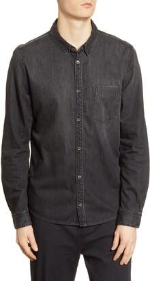 BLDWN Diego Slim Fit Button-Up Denim Shirt