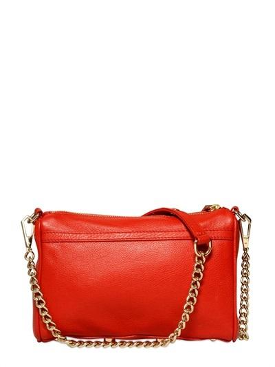 Rebecca Minkoff Mini Mac Matte Leather Shoulder Bag