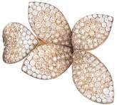 Pasquale Bruni 18K Rose Gold Secret Garden Four Petal Pavé Diamond Ring
