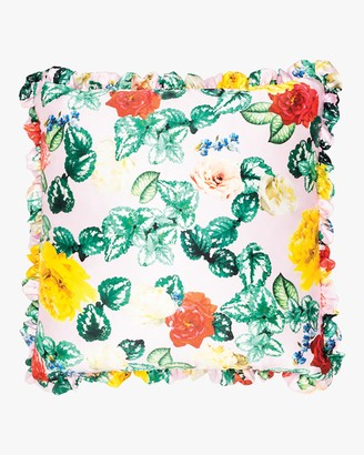 Preen by Thornton Bregazzi Home Double-Sided Silk Pillow