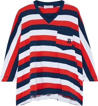 Sonia Rykiel Oversized Striped Cotton-jersey T-shirt