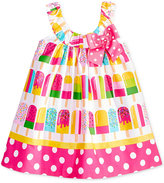Bonnie Baby Cotton Popsicle Print Dress, Baby Girls (0-24 months)