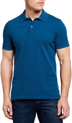 Tom Ford Men's Garment-Dyed Polo Shirt