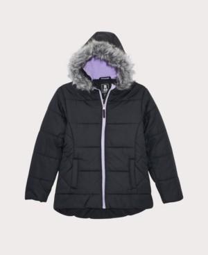 S. Rothschild Little Girls Quilted Puffer Coat