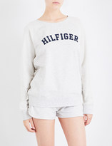 Tommy Hilfiger Iconic cotton-jersey sweatshirt
