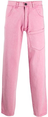 Liberal Youth Ministry Asymmetric Patch Pocket Trousers