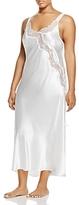 Oscar de la Renta Plus Charmeuse Long Gown