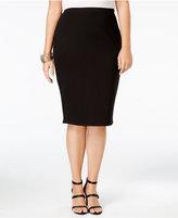 Soprano Trendy Plus Size Pencil Skirt