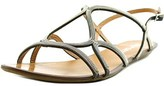 Report Locke Open-toe Canvas Slingback Sandal.
