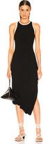 A.L.C. Annina Dress in Black & Natural   FWRD