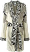Fausto Puglisi ribbed robe coat - women - Viscose/Polyester - 42