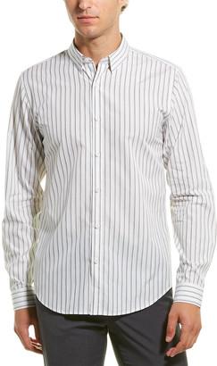 Theory Irving Silk-Blend Woven Shirt