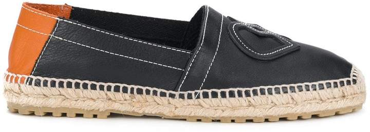 DSQUARED2 interlocking D espadrilles