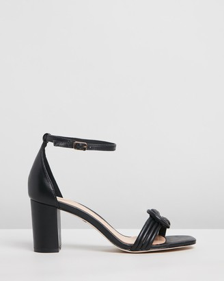 Robert Robert - Women's Black Mid-low heels - Karie - Size One Size, 37 at The Iconic