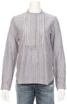 Vanessa Bruno Gustin Detail Mandarin Collar Shirt